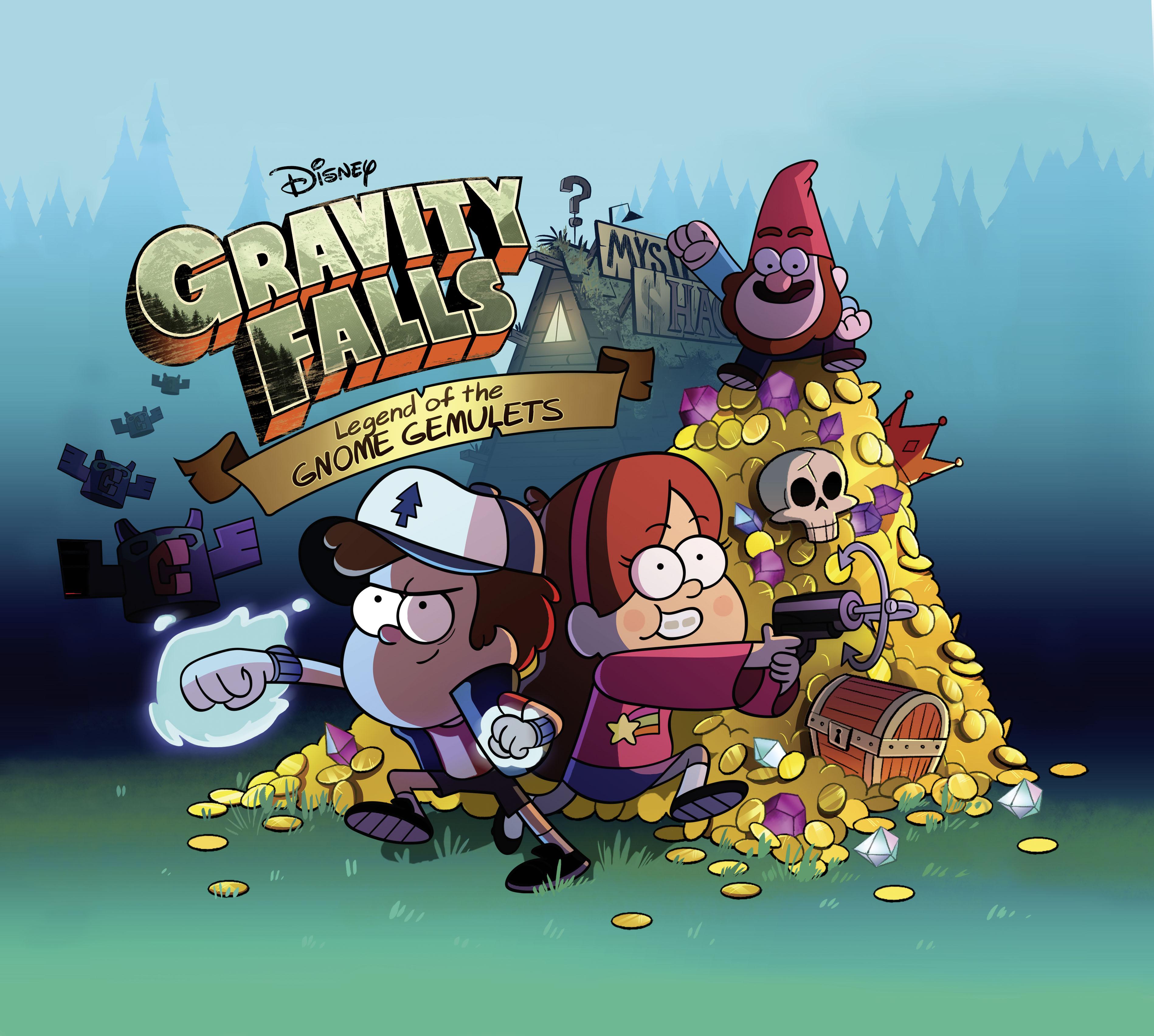 Souvenirs de Gravity Falls La Légende des Gémulettes Gnomes