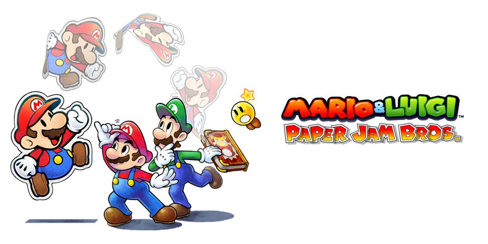 Mario & Luigi Paper Jam Bros.