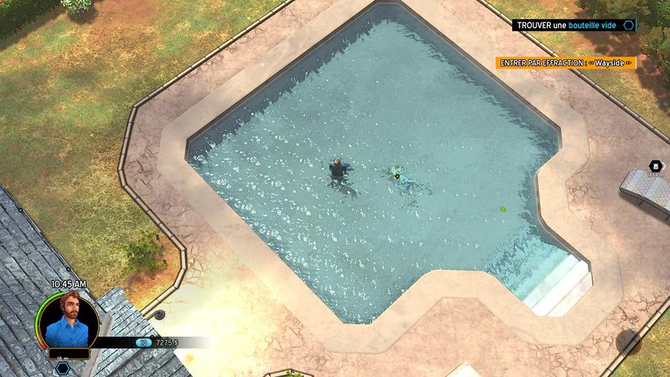 Gros poisson dans la piscine ou meutre déguisé ?