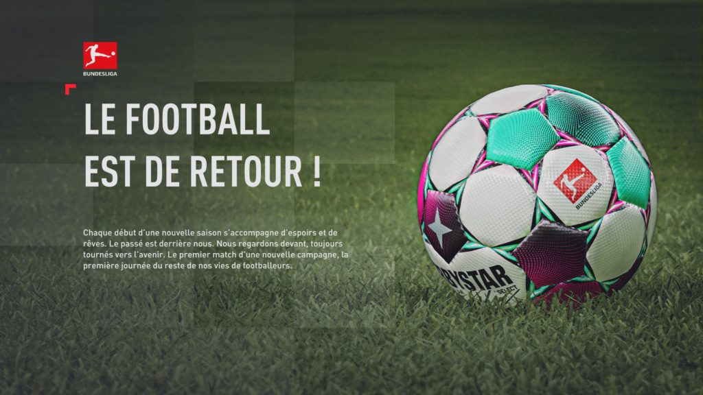 FIFA 21 Carrière (dans les menus)
