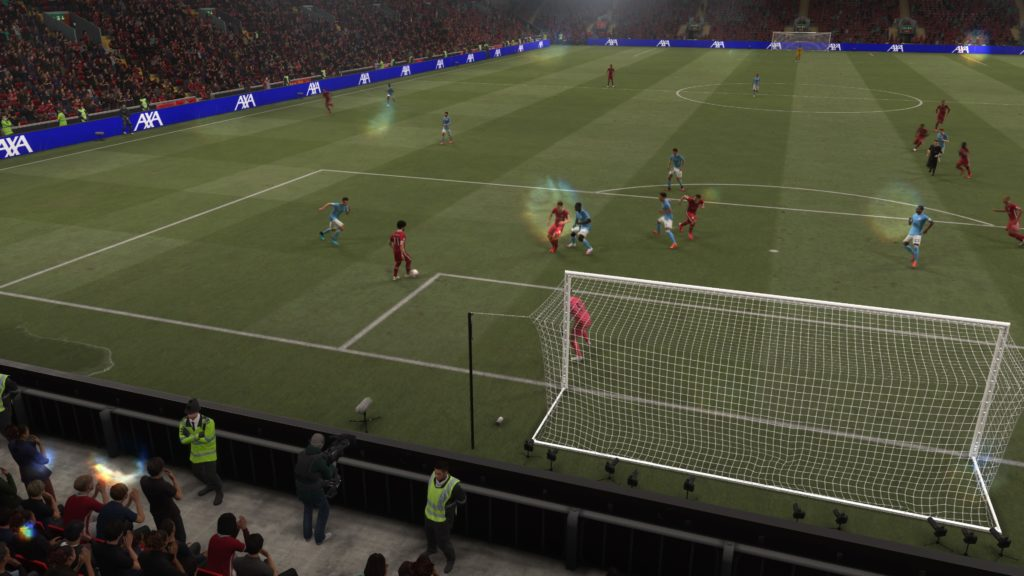 FIFA 21 Journée en direct 3-0 LIV - MCI, 1re période