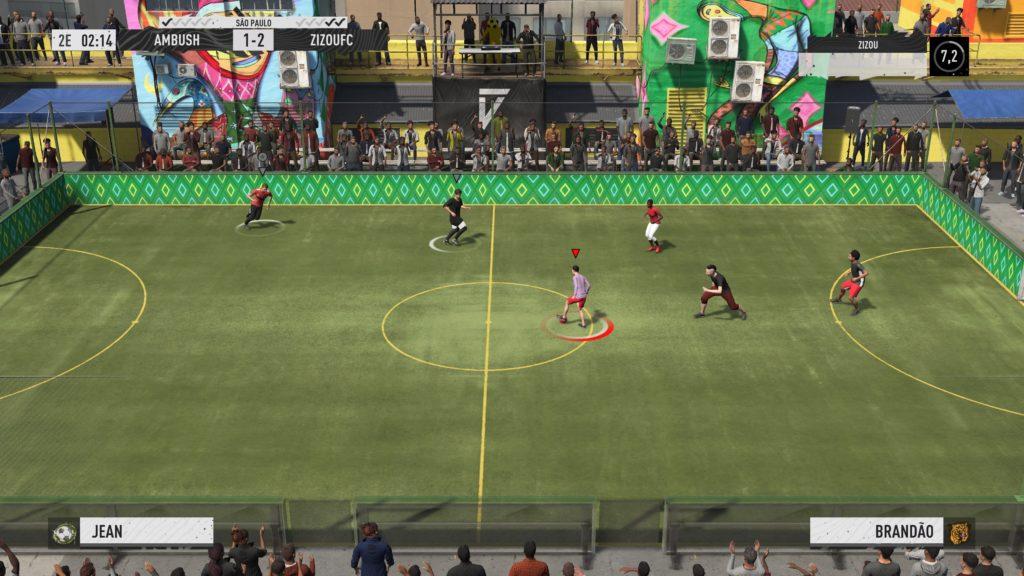 FIFA 21 VOLTA FOOTBALL 0-1 ÉQUIPE 2 - ÉQUIPE 1, 1re période