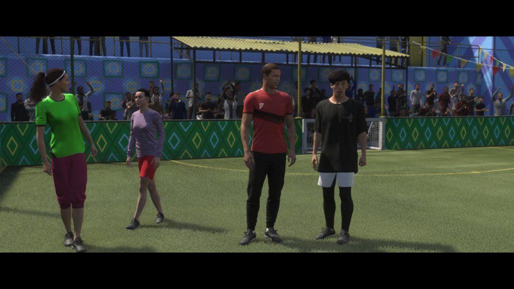 FIFA 21 VOLTA FOOTBALL (dans les menus)